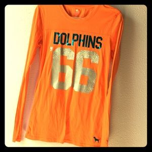 Victoria's Secret Pink Miami Dolphins shirt